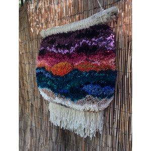 Venice Beach Sunset Mega Poof Wall Hanging
