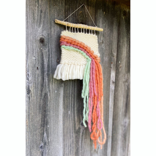 🌈 Mini Rainbow Wall Hanging 🌈