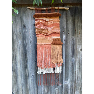 Earthy Pink Wall Hanging