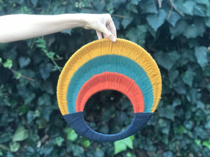 SOLD. Circle Rainbow/Sunset