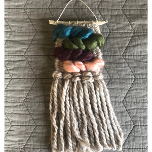 SOLD. Mini Wall Hanging