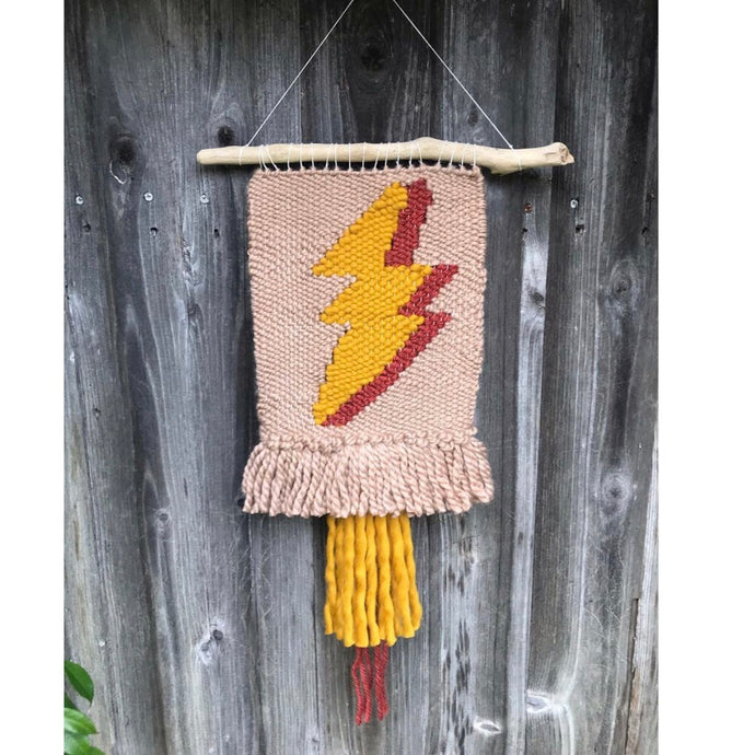 ⚡️Small Lightening Bolt Wall Hanging⚡️