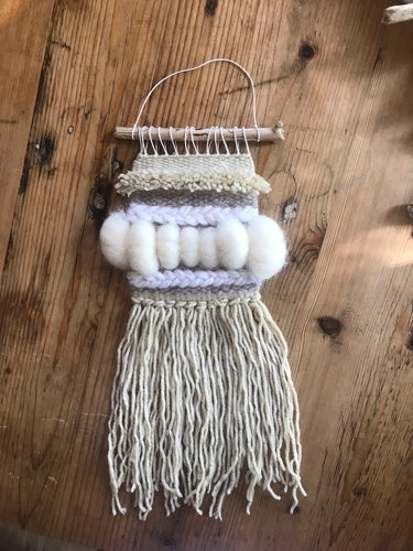 Mini Neutral Wall Hanging