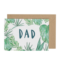 Load image into Gallery viewer, monstera-card-for-dad