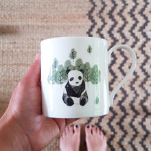 Load image into Gallery viewer, Panda Fine Bone China Mug