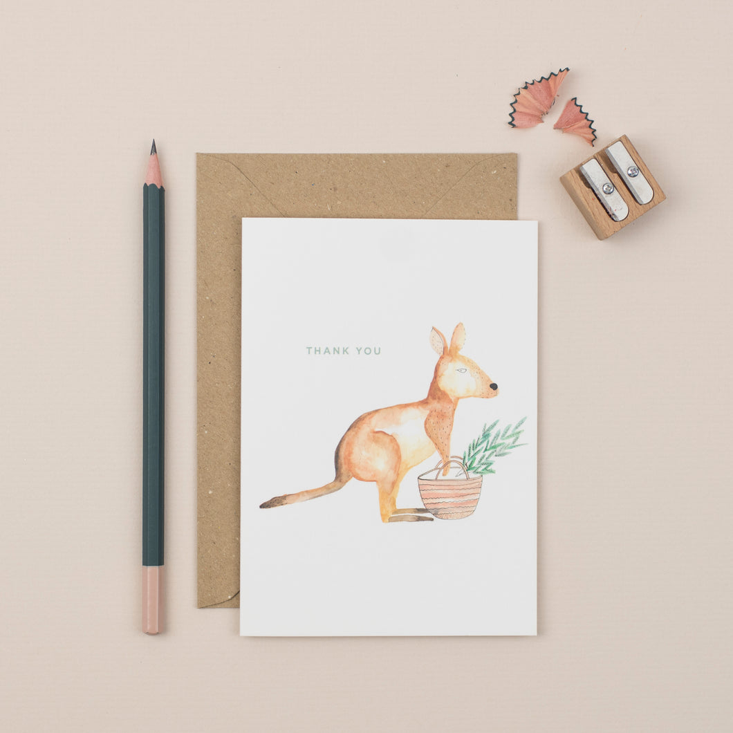 kangaroo-thank-you-greetings-card
