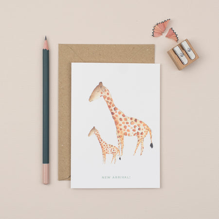 new-arrival-giraffe-new-baby-greetings-card