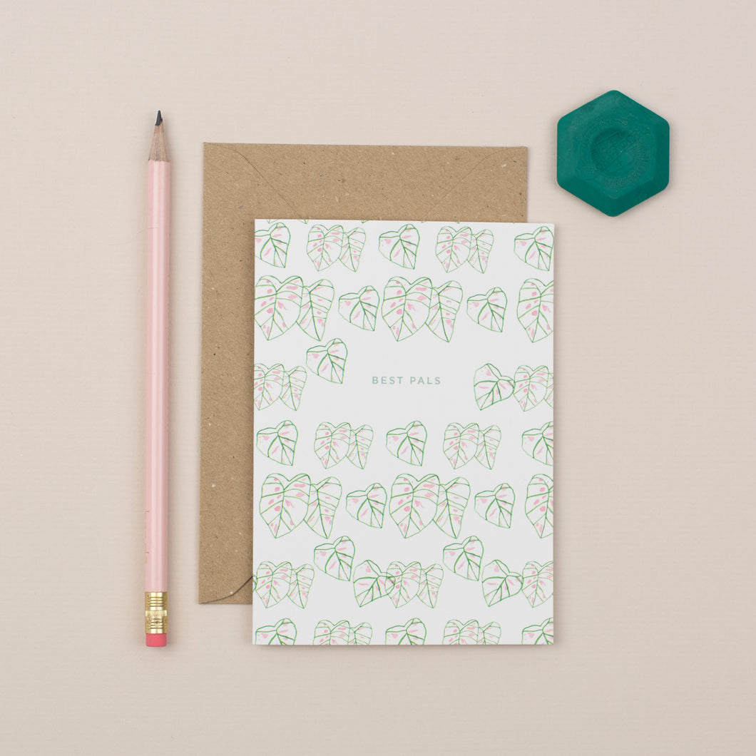 best-pals-botanical-greetings-card