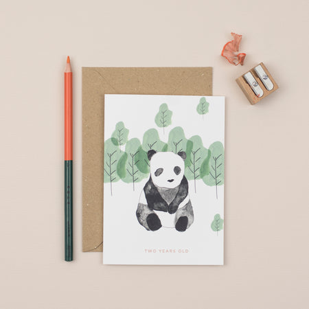 panda-second-birthday-card