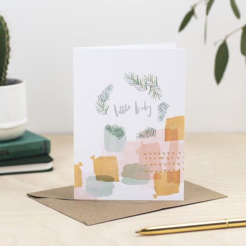 little-baby-greetings-card
