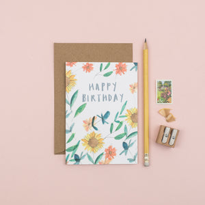 sunflower-happy-birthday-card