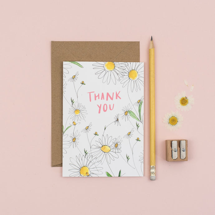 daisy-thank-you-card
