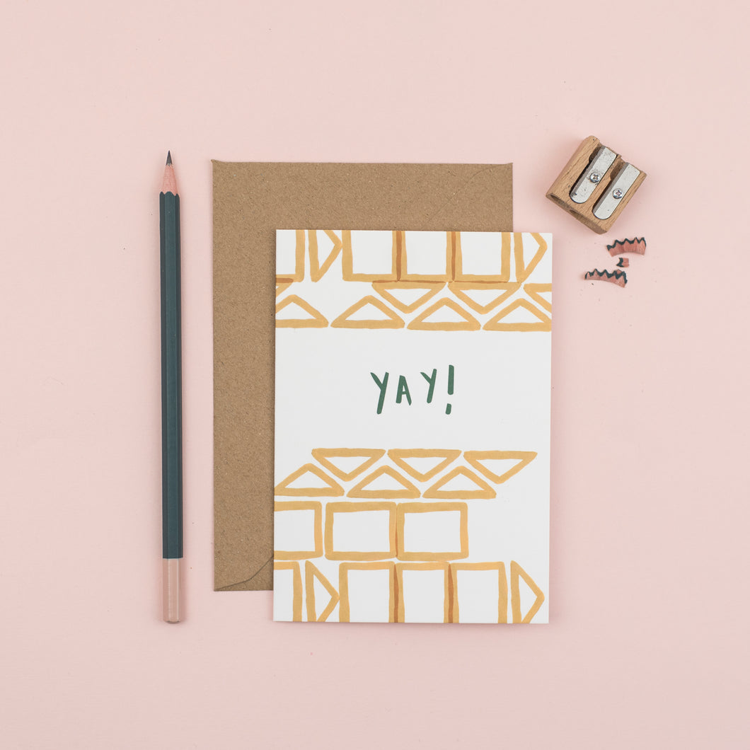 yay-geometric-greetings-card