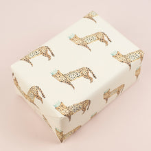 Load image into Gallery viewer, luxury-cheetah-gift-wrap