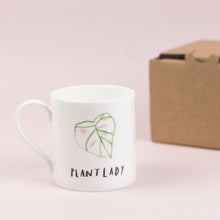 Load image into Gallery viewer, luxury-plant-lady-mug