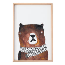 Load image into Gallery viewer, cute-bear-art-print