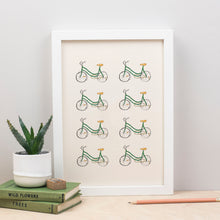 Load image into Gallery viewer, cute-bike-print