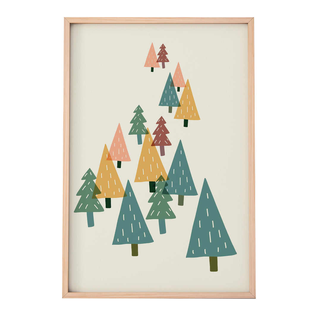 cute-colourful-tree-print