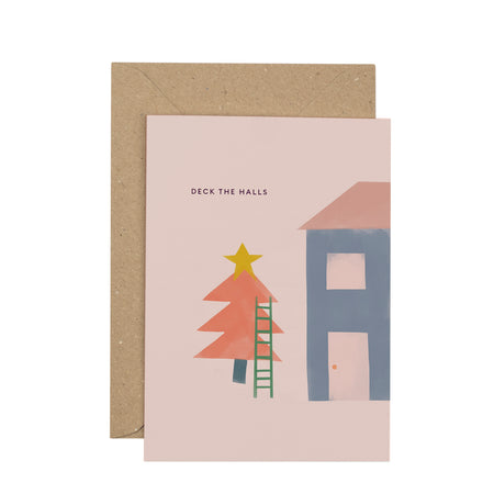 luxury-deck-the-halls-christmas-card
