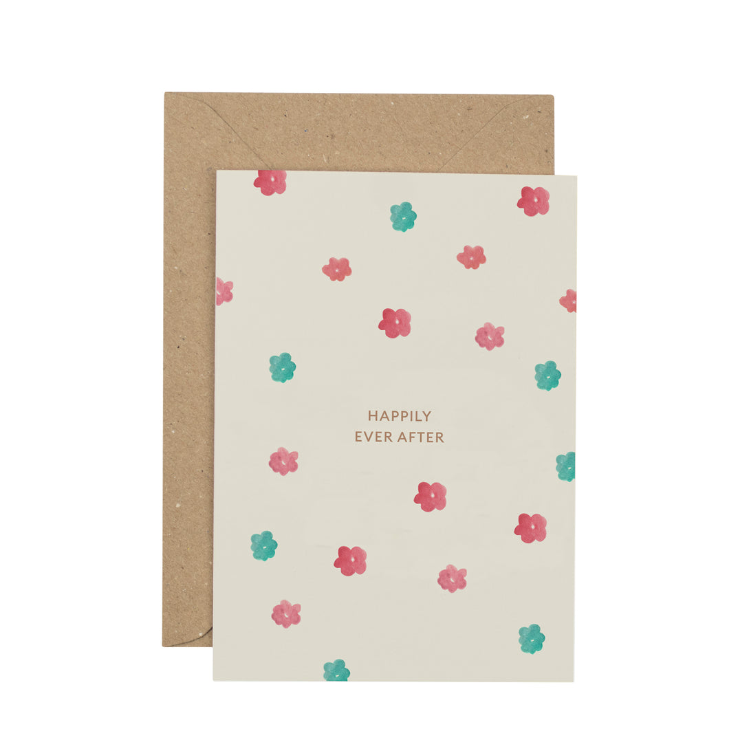 Happily Ever After greetings card