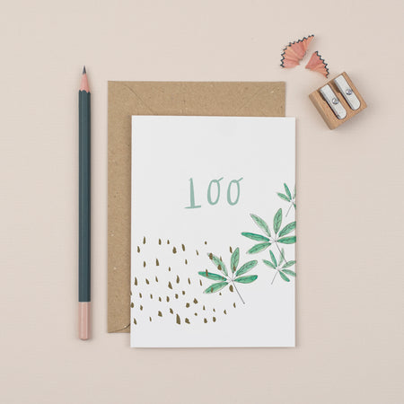 luxury-100th-birthday-greetings-card