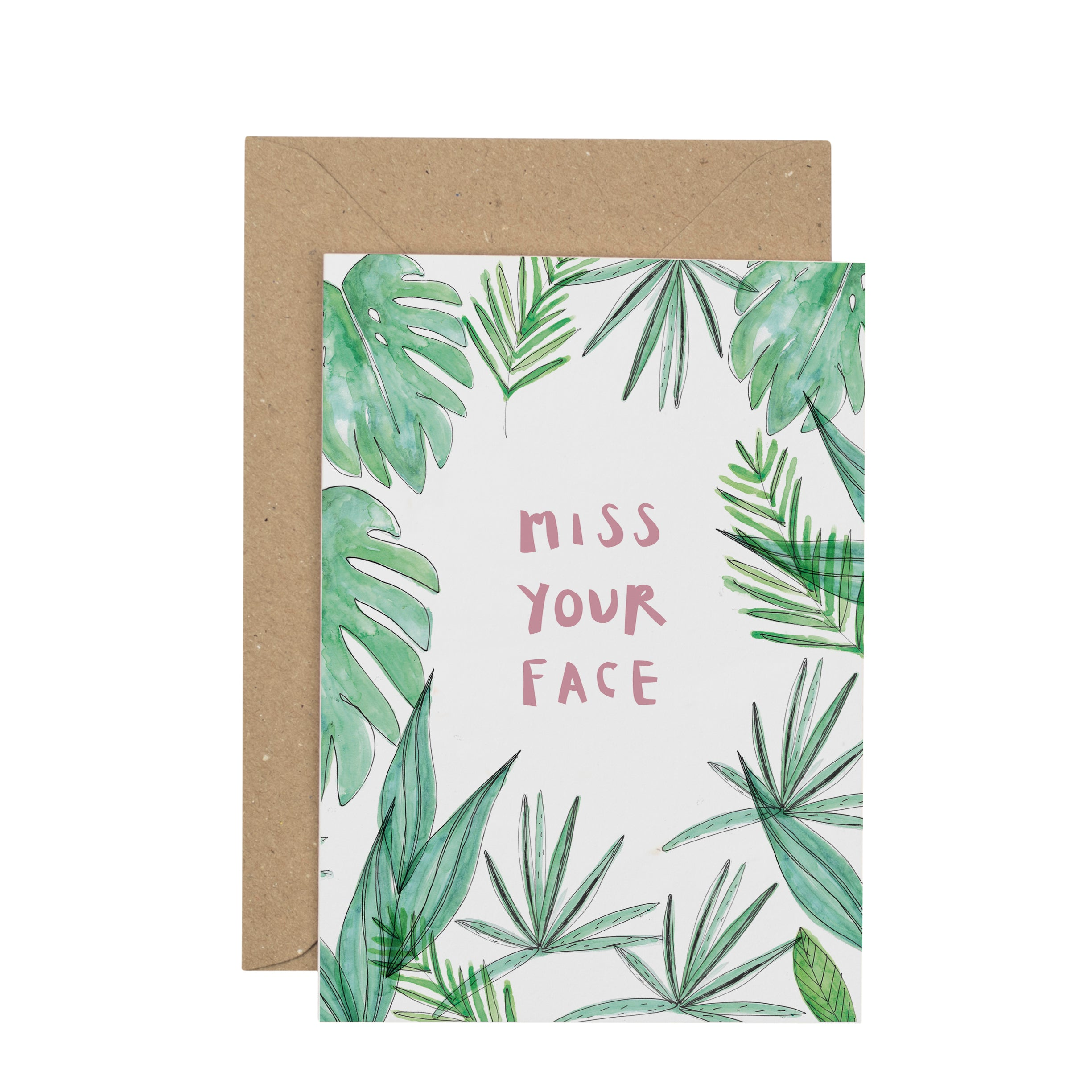 miss-your-face-greetings-card