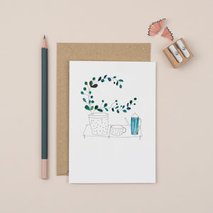 plants-and-tea-greetings-card