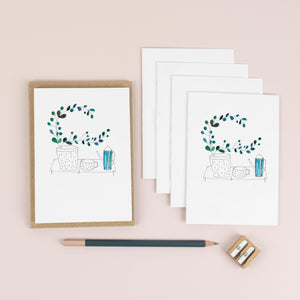 luxury-plants-and-tea-card-pack