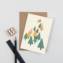 Load image into Gallery viewer, trees-greetings-card