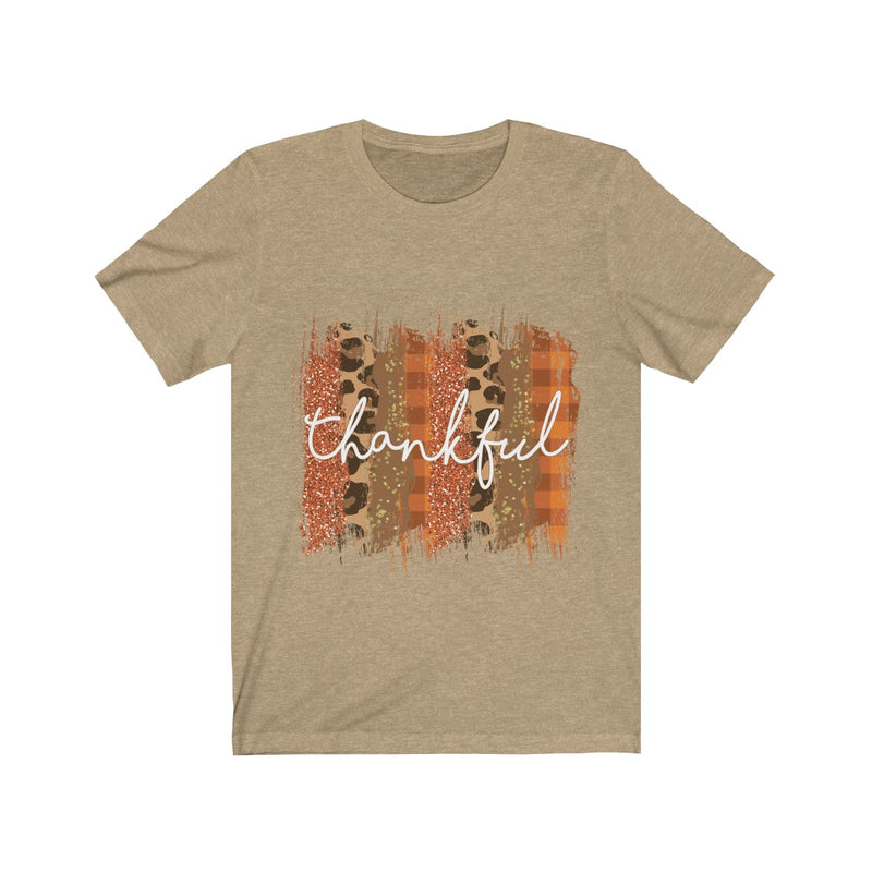 """Thankful"" Short Sleeve Tee"