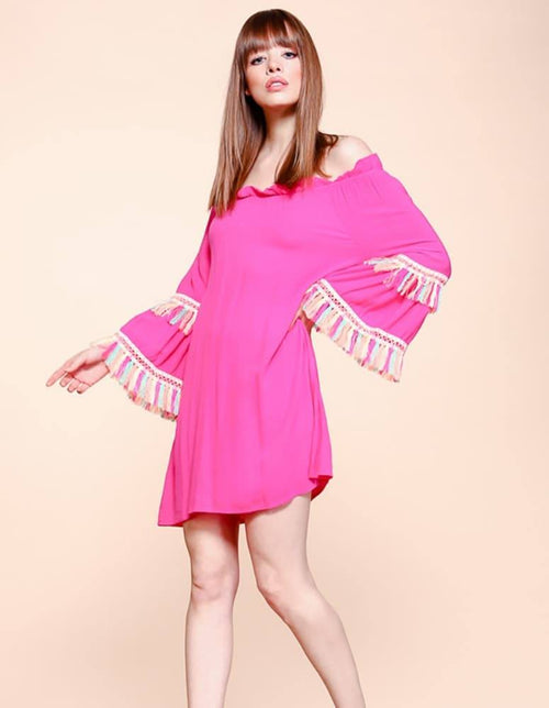 2-n-1 Tunic Dress/Swimsuit Cover Up