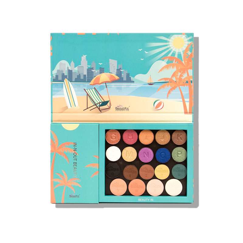 IN-N-OUT BEAUTY 25 Color Eye/Face Replaceable Palette