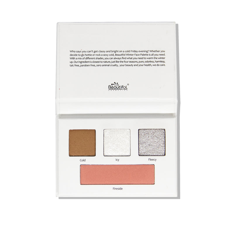 FOUR SEASONS EYE / FACE MINI PALETTE - WINTER