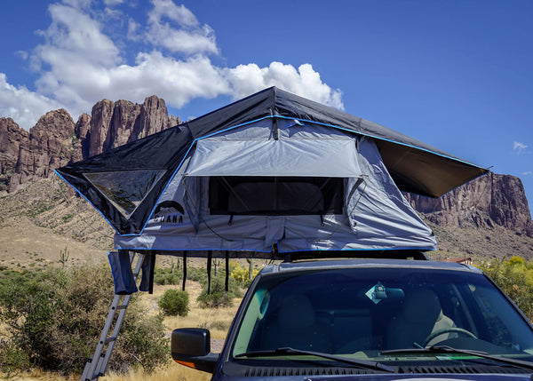 Guana Equipment Nosara Roof Top Tent Setup Front View