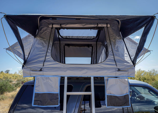 Guana Equipment Nosara Roof Top Tent Setup Side View