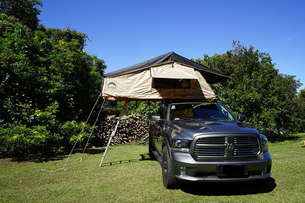 guana equipment wanaka 3 person car top tent softshell