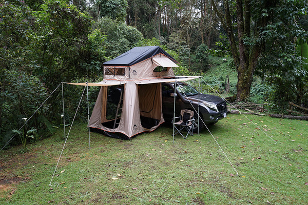 roof rack tent by guana equipment