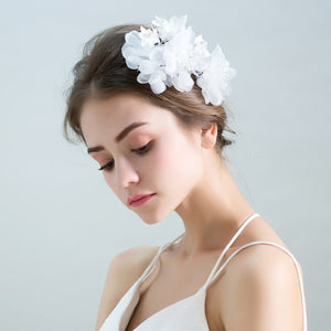 Kara Elegant Flower Hairband