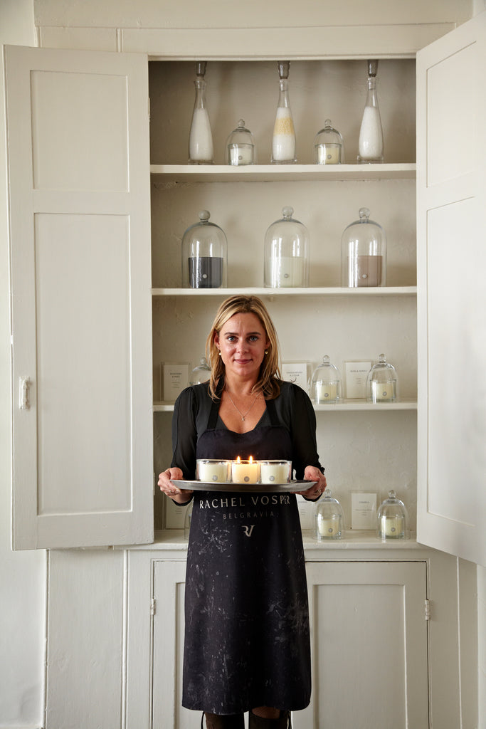 Inspiration for Zero Waste July: Rachel Vosper's candle refills