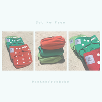 SET ME FREE Bamboo Cloth Nappies