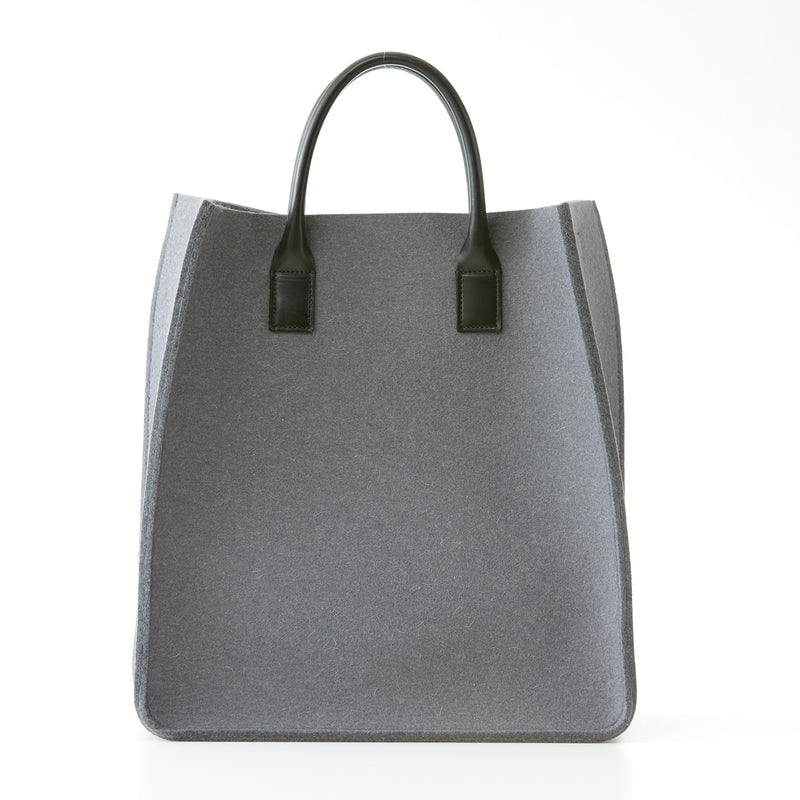 City Tote - Gray Felt