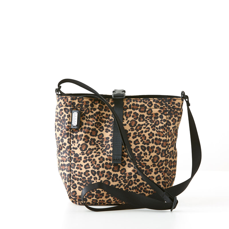 Harrison Tote - Small - Leopard Nylon