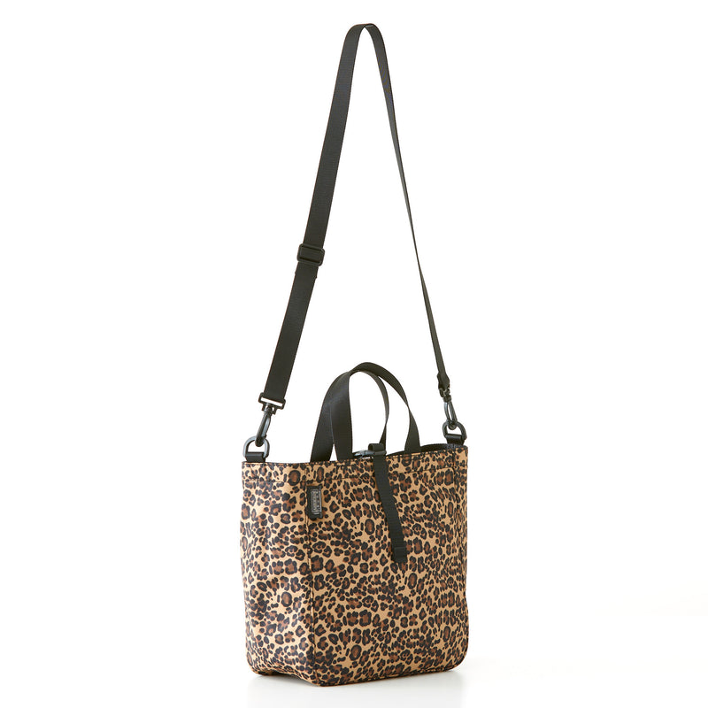 Harrison Tote - Medium - Leopard Nylon