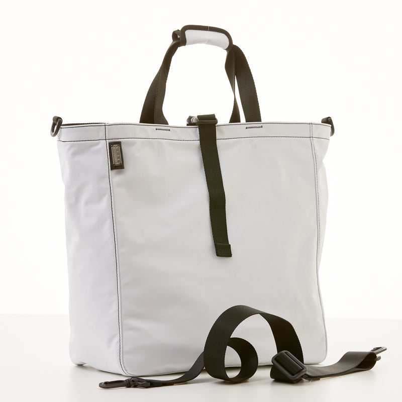 Harrison Tote - Large - White Nylon