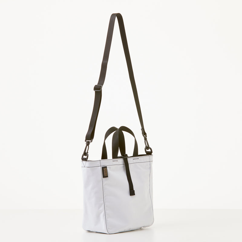 Harrison Tote - Medium - White Nylon
