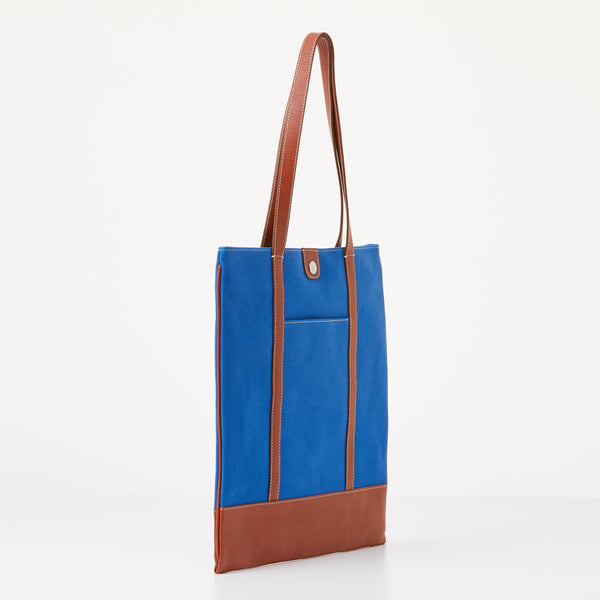 Taylor Tote - Sky Blue Canvas