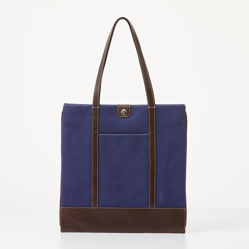 Taylor Tote - Navy Canvas