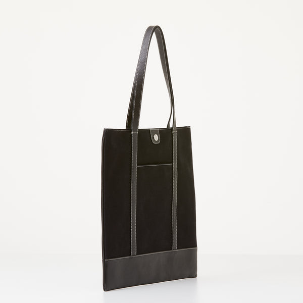 Taylor Tote - Black Canvas