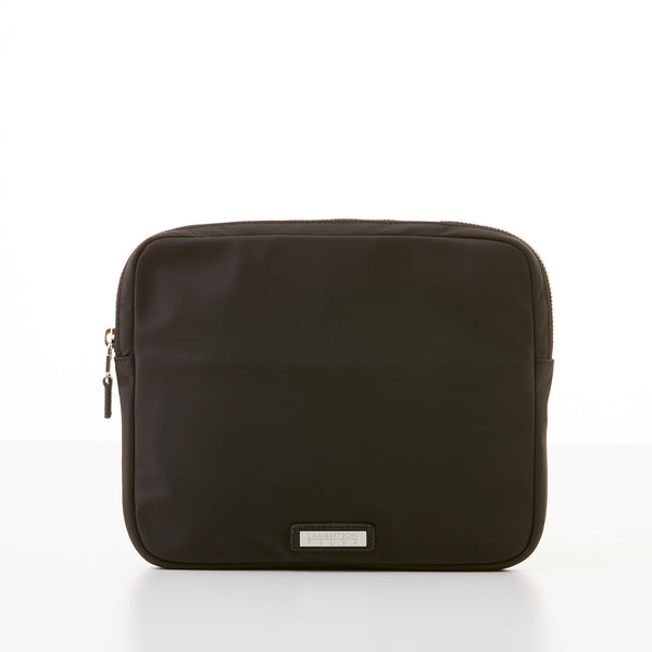 Organizer Clutch - Black Nylon Sport