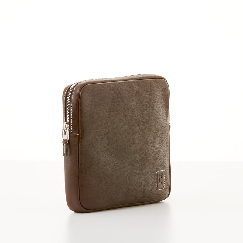 Organizer Clutch - Brown Vachetta Sport